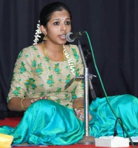 Carnatic Vocal Concert by GOWRI GOPINATH